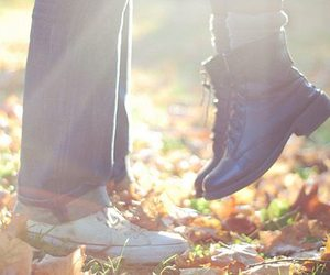 love and autumn image