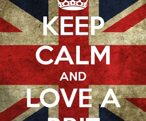 british and keep calm image