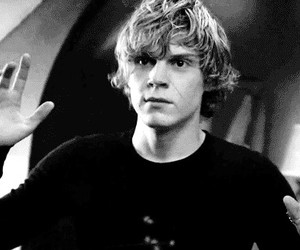 american horror story and evan peters image