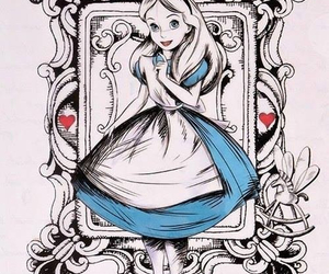 disney, alice, and wonderland image