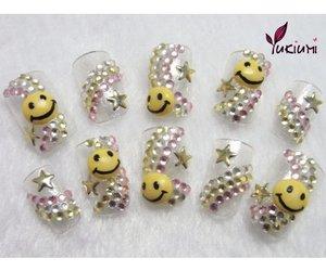 nails, uñas, and nails style image