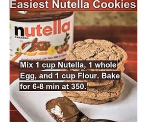 Cookies, nutella, and diy image