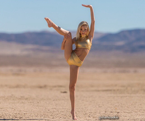 dance, photography, and desert image