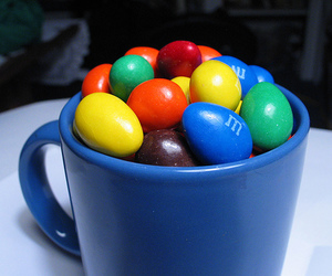 blue, candy, and chocolate image