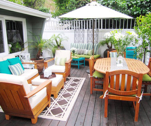 patio design, landscaping ideas, and deck designs image