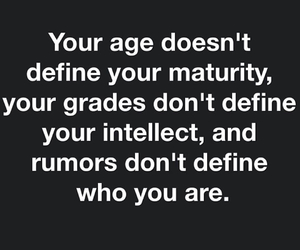 age, maturity, and grades image