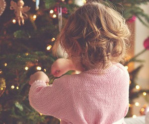 baby, christmas, and child image
