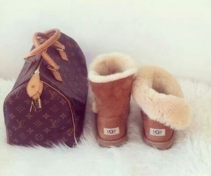 uggs, bag, and fashion image