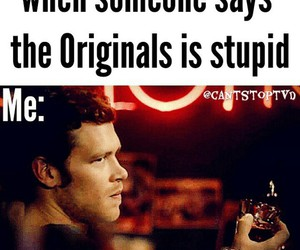 The Originals, bitch, and to image