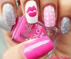 kiss, lovely, and nails image