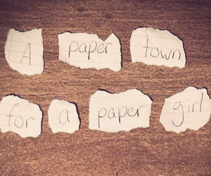 books, paper towns, and MARGO image