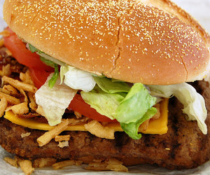 burger, burgers, and food image