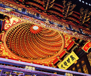 asia, ceiling, and china image