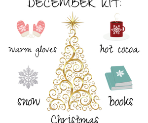 book, christmas, and cocoa image
