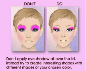 Easy, girls, and makeup image