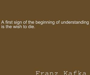beginning, franz kafka, and brown image