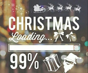christmas, loading, and claus image