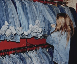 grunge, girl, and jeans image