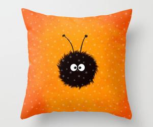 cute, bug, and orange image
