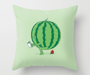 art illustration, bed, and funny image