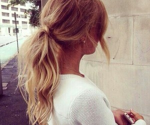 blond, love, and fashion image