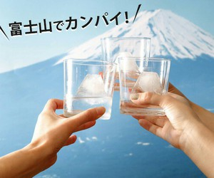drink, fuji, and ice image