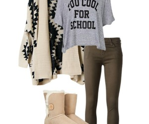 girl, cool, and fashion image