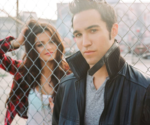 pete wentz, black cards, and bebe rexha image
