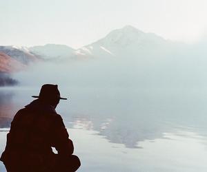 adventure, boy, and lake image