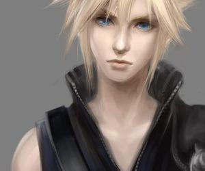 cloud, cloud strife, and final fantasy image