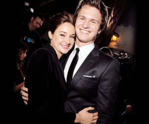 ansel elgort and Shailene Woodley image