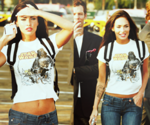 megan fox, star wars, and Hot image