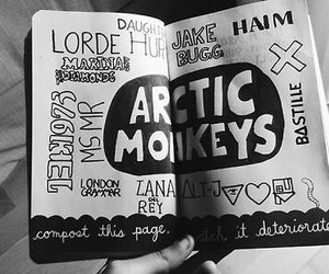 arctic monkeys, lorde, and bastille image