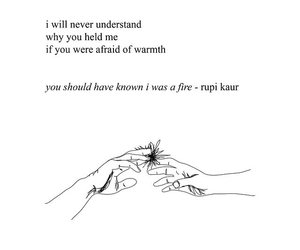 amazing, fire, and poem image