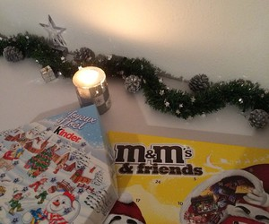 candles, christmas, and december image