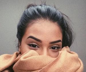 girl, eyebrows, and beauty image