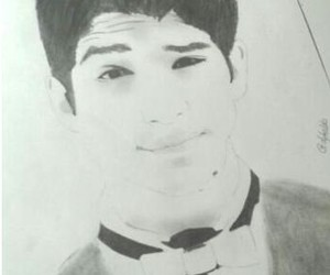 drawing, teen wolf, and tyler posey image