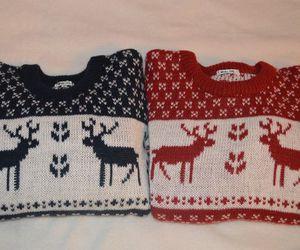 christmas, fashion, and sweater image