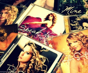cds, Taylor Swift, and girl image