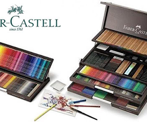 faber castell and love image