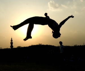 extreme, parkour, and Figure image