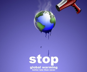 global warming, heart, and picture image