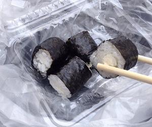 sushi, food, and grunge image