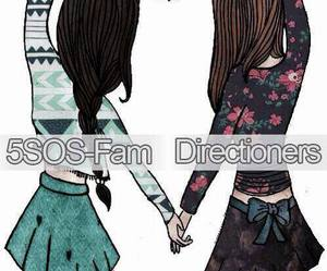 5sos, one direction, and 5sosfam image