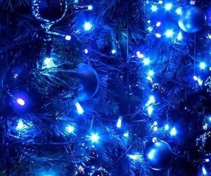 christmas, new year, and lights image