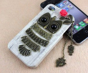 owl and phone case image