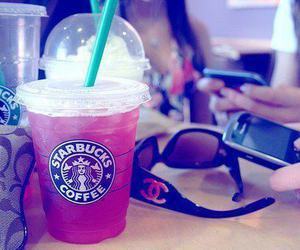 starbucks, blackberry, and chanel image