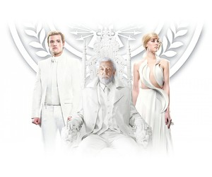 johanna, snow, and hunger games image