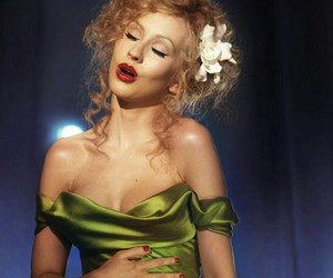 christina aguilera, hair, and makeup image