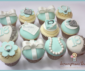birthday girl, cupcakes, and party image